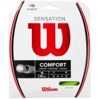 Wilson Sensation 16g Neon Green Tennis String (Set) - Tennis String Type
