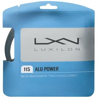 Luxilon ALU Power 115 Silver Tennis String (Set)