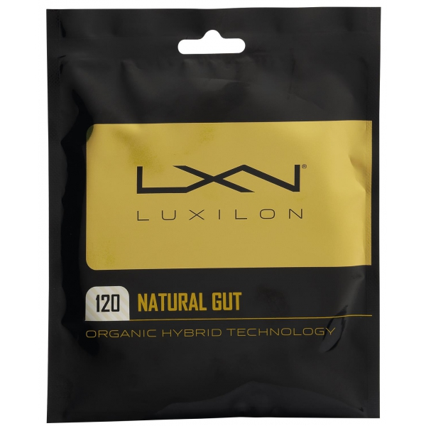 Luxilon Natural 120 Tennis String (Set)