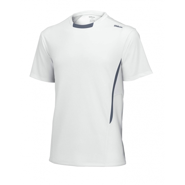 Wilson Men's Short Sleeve Crew (White/Grey)