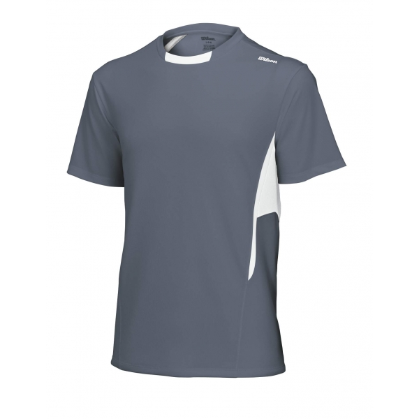 Wilson Men's Short Sleeve Crew (Grey/White)