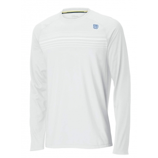 Wilson Men's Blow Away Long Sleeve Pullover (White)