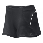 Wilson Women's Knit Short (Black) - Wilson Women's Apparel Tennis Apparel