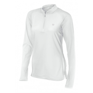 Wilson Women's Long Sleeve Pullover (White)
