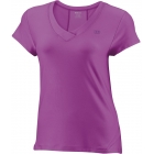 Wilson Womens Melban Capsleeve (Fuchsia) - Women's Team Apparel