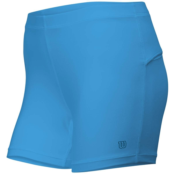 Wilson Womens Compression Short (Cyan)