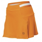 Wilson Women's Sweet Spot Skirt (Orange/ White) - Wilson New Spring Apparel