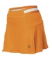 Wilson Women's Sweet Spot Skirt (Orange/ White) - Wilson Women's Spring Apparel