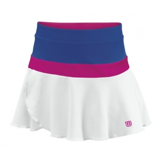 Wilson Girl's Sweet Success Skirt (White/ Ink)