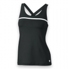 Wilson Women's Team Tennis Tank (Black/White) - Women's Tops