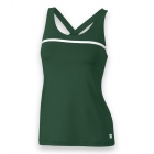 Wilson Women's Team Tennis Tank (Green/White) - Women's Tops