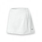 Wilson Women's Team Tennis Skirt (White/White) - Women's Shorts
