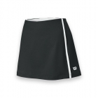 Wilson Women's Team Tennis Skirt (Black/White) - Women's Shorts
