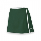 Wilson Women's Team Tennis Skirt (Green/White) - Women's Shorts