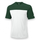 Wilson Men's Team Tennis Crew (Green/White) - Wilson