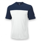 Wilson Men's Team Tennis Crew (Navy/White) - Wilson