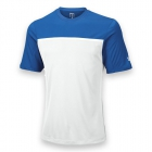 Wilson Men's Team Tennis Crew (Blue/White) - Wilson