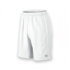 Wilson Men's Team Tennis Shorts (White/White) - Wilson