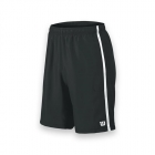 Wilson Men's Team Tennis Shorts (Black/White) - Wilson