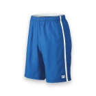 Wilson Men's Team Tennis Shorts (Blue/White) - Wilson