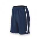 Wilson Men's Team Tennis Shorts (Navy/White) - Wilson