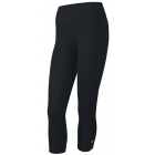 Wilson Women's Rush Capri II Tennis Tight (Black) - Women's Pants