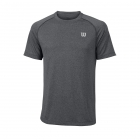 Wilson Men's Spring Core Tennis Crew (Turbulence/Black) - Wilson Tennis Apparel