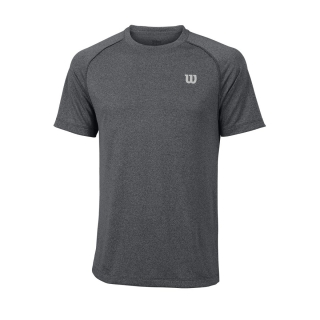 Wilson Men's Spring Core Tennis Crew (Turbulence/Black)