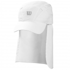 Wilson Neck Cover-up Cap (White) - New Style Tennis Apparel