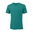 Wilson Men's Spring Condition Tennis Tee (Tropical Green) - Men's Tennis Apparel