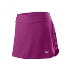 Wilson Women's Condition 13.5 Inch Tennis Skirt (Very Berry) - Wilson Women's Tennis Apparel