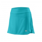 Wilson Women's Condition 13.5 Inch Tennis Skirt (Blue Curacao) - Wilson Women's Tennis Apparel