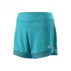 Wilson Women's Condition 3.5 Inch Tennis Short (Blue Curacao/Bluebird) - Wilson Women's Tennis Apparel