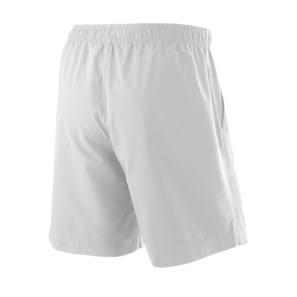 Wilson Men's 8 Inch Team Tennis Short (White)
