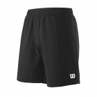 Wilson Men's 8 Inch Team Tennis Short (Black) [Sale] - Men's Shorts