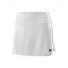 Wilson Women's 12.5 Inch Team Tennis Skirt (White) - Wilson Women's Tennis Apparel