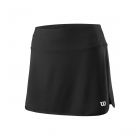 Wilson Women's 12.5 Inch Team Tennis Skirt (Black) - Wilson Women's Tennis Apparel