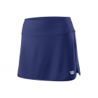 Wilson Women's 12.5 Inch Team Tennis Skirt (Blue Depths) - Wilson Women's Tennis Apparel