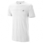 Wilson Men's Competition Seamless Tennis Crew (White) - Wilson Men's Tennis Apparel