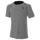 Wilson Men's Tennis Training Crew (Black/White) - Wilson Men's Tennis Apparel