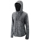 Wilson Women's Hooded Tennis Training Jacket (Black Heather) - Women's Jackets