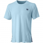 Wilson Men's Kaos Tennis Crew (Glacier Blue) - Wilson Men's Tennis Apparel
