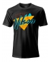 Wilson Men's Nostalgia Tech Tennis Tee (Black) - Shop the Best Selection of Tennis Apparel