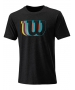 Wilson Men's Blur Tech Tennis Tee (Black) - Shop the Best Selection of Tennis Apparel