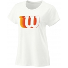 Wilson Women's Blur W Tech Tennis Tee (White) -