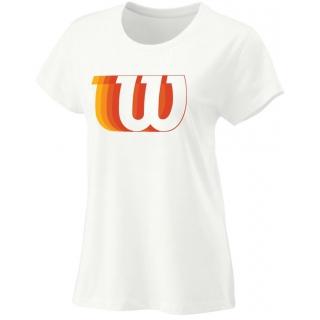 Wilson Women's Blur W Tech Tennis Tee (White)