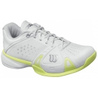 Wilson Womens Rush Pro Shoes (Wht/ Grn) - Wilson Tennis Shoes