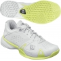 Wilson Womens Rush Pro Shoes (Wht/ Grn)