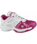 Wilson Rush Pro Junior Shoes (Pnk/ Wht) - Wilson Rush Tennis Shoes