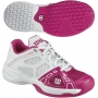 Wilson Rush Pro Junior Tennis Shoes (Hot Pink/ White)